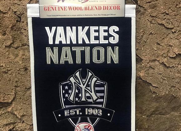 Yankees Nation Banner