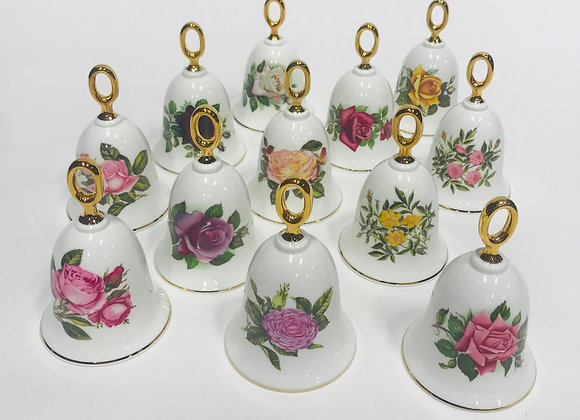Danbury Mint American Rose Bell Collection