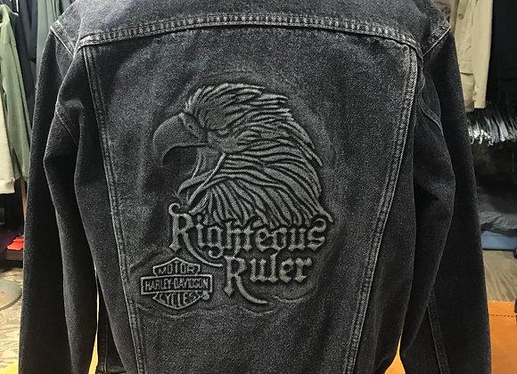 Vintage Harley-Davidson Jean Jacket