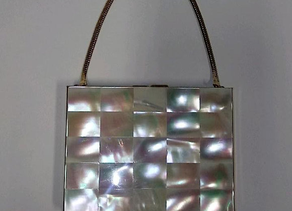 Vintage Mother-of-Pearl Compact
