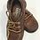 Thumbnail: Sebago Campsides Brown leather Size 8 1/2 toddler