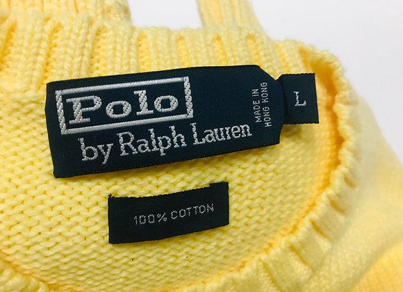 Ralph Lauren 100% Cotton Polo Crew Neck Sweater (L)