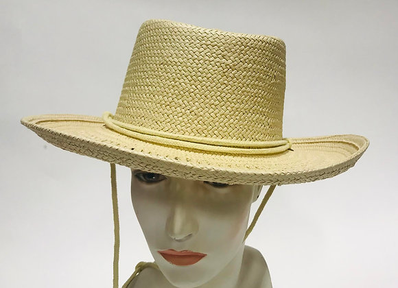 Madewell Straw Hat with String Tie