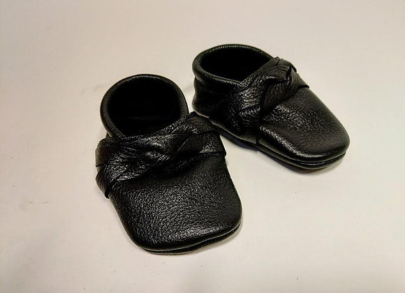 Braided Moccasin Baby Shoes (6-12)