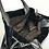 Thumbnail: Ferragamo Black patent Bag Tote with Silver Handles