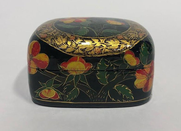 Floral Jewelry and Trinket Box