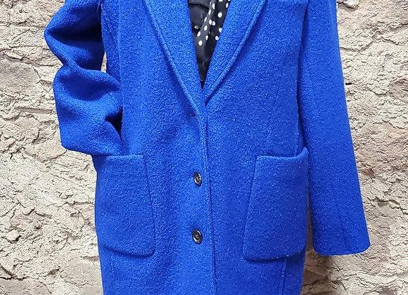 J. Crew Italian Boiled Wool Mid-length Top Coat