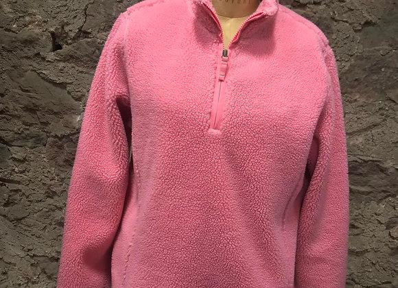 Lands' End Pink Fleece