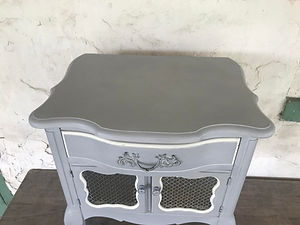 Furniture Vintage Antique Dresser Table Chest