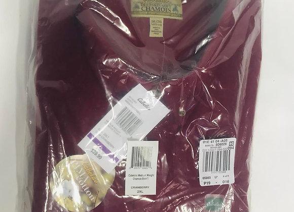 Cabela's Cranberry Chamois Shirt (2XTL)