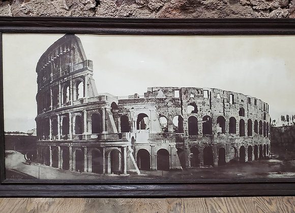 1913 Photograph of the Roman Colosseum