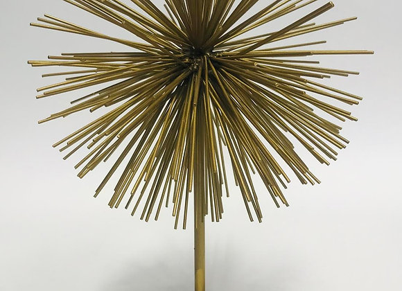 Contemporary Gold Metal Sculpture