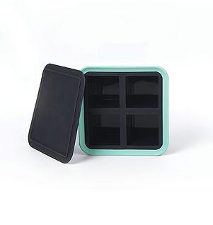 bac à glaçons 4 cubes silicone