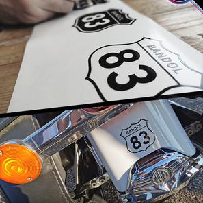 Stickers personnalisés particuliers
