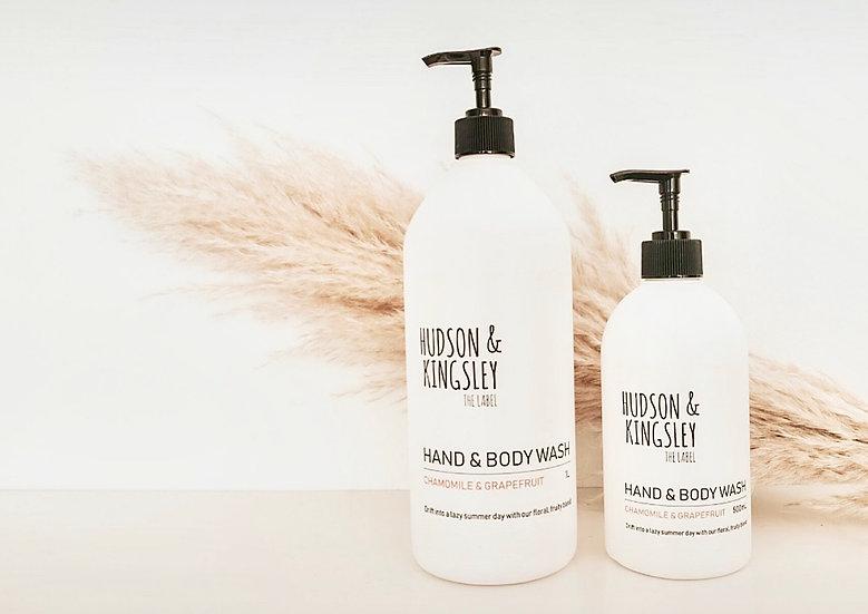 Hand & Body Wash Chamomile & Grapefruit - 1 Litre