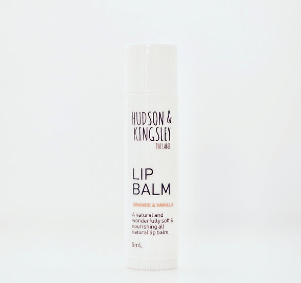 Lip Balm - Orange & Vanilla