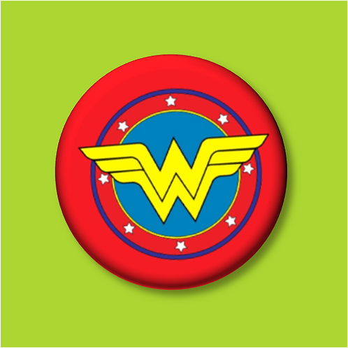 Superheroes - Button Badges