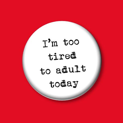 """Quote Unquote"" Button Badges"
