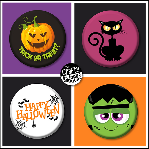 Halloween - Button Badges
