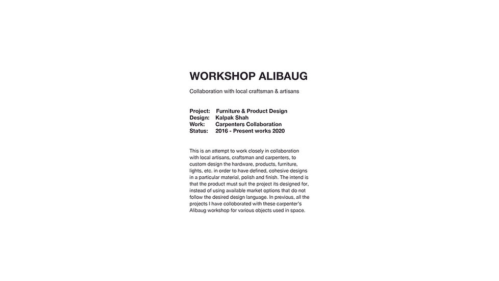 Workshop Alibaug