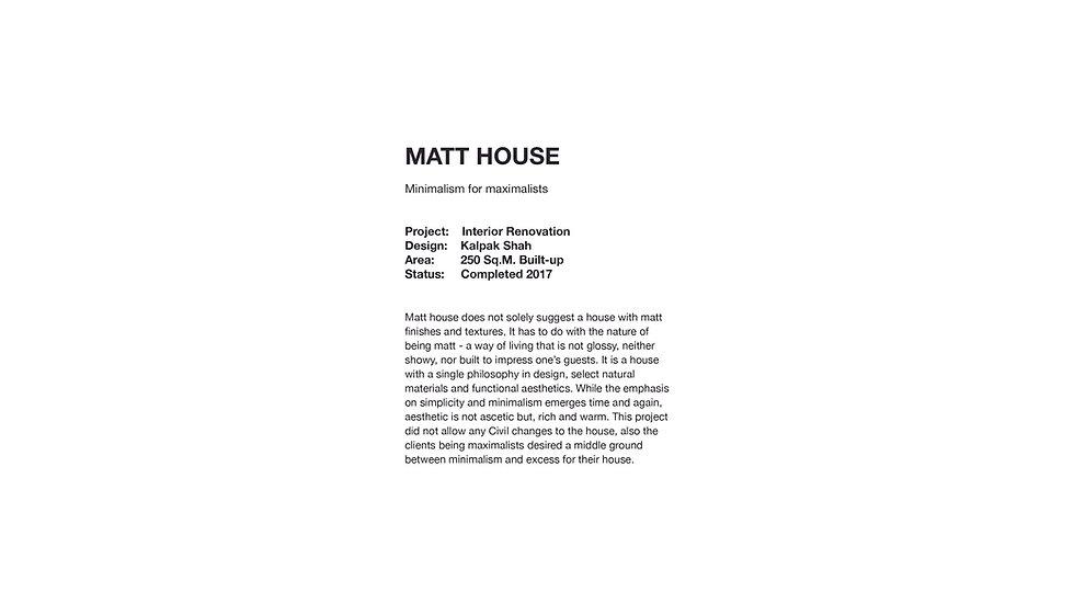 Matt House