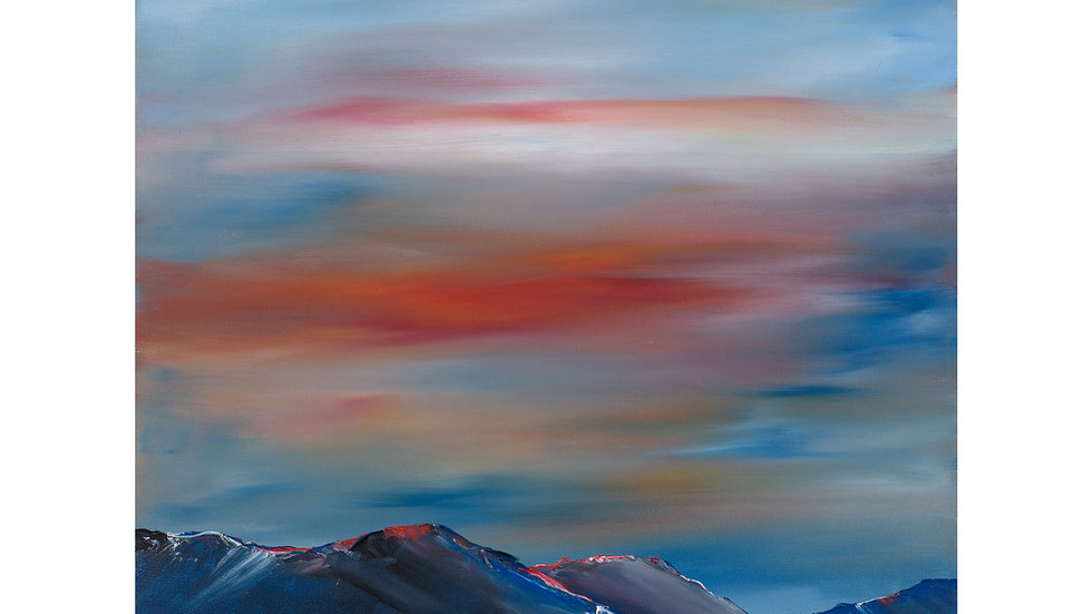 Sunset over Ben Lomond