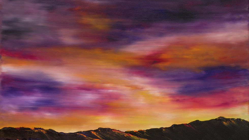 Rainbow Skies over Glen Feshie