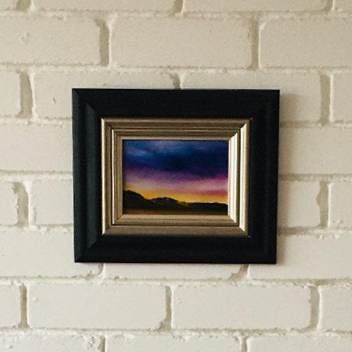 Sunset on Broadford Bay Skye