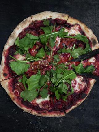 Beetroot Pizza 22