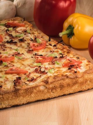 Square Veggie Pizza 28