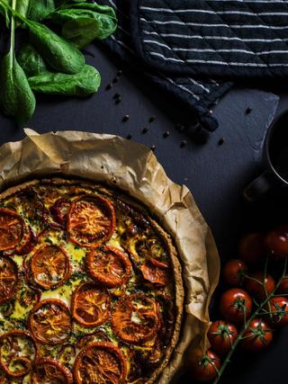 Roasted Tomato Pizza 22