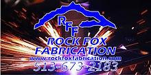 Rock Fox Fabrication logot and Artwork.j