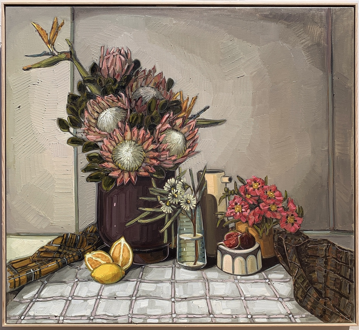 sam michelle 'country proteas & cloth' 1