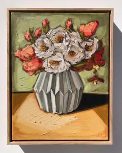 'Autumn Roses' 35x45cm