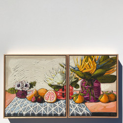 'The City Flower' Diptych