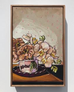 Sam Michelle 'Roses & Orchids' 45x30cm