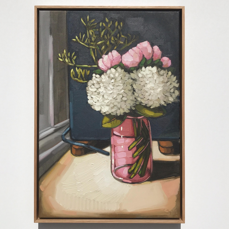 12_17 EMPEREUR 'Hydrangeas, Peonies & Kangaroo Paw' 45x65cm $1,795