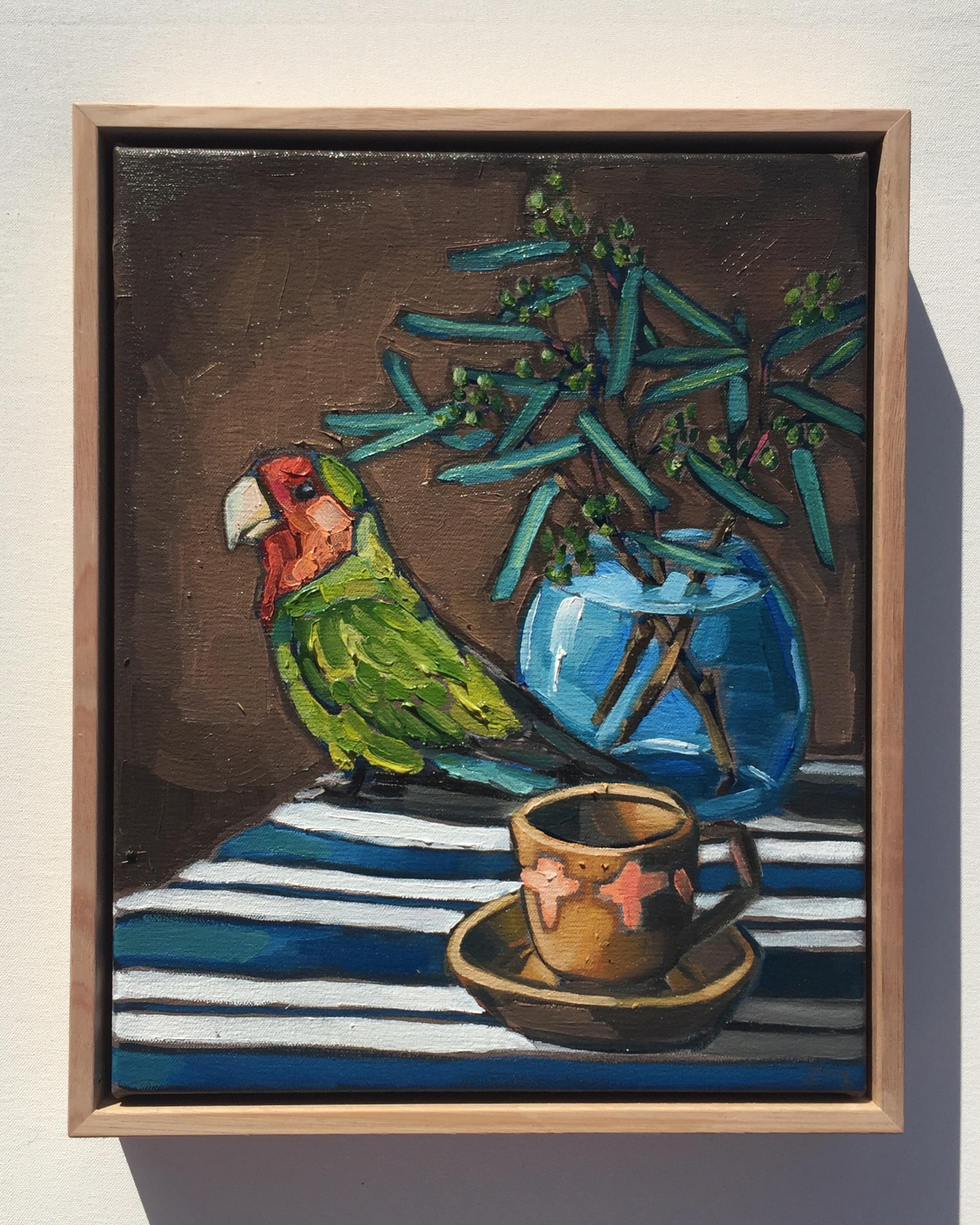 10_16 Rosey-Faced Love Bird