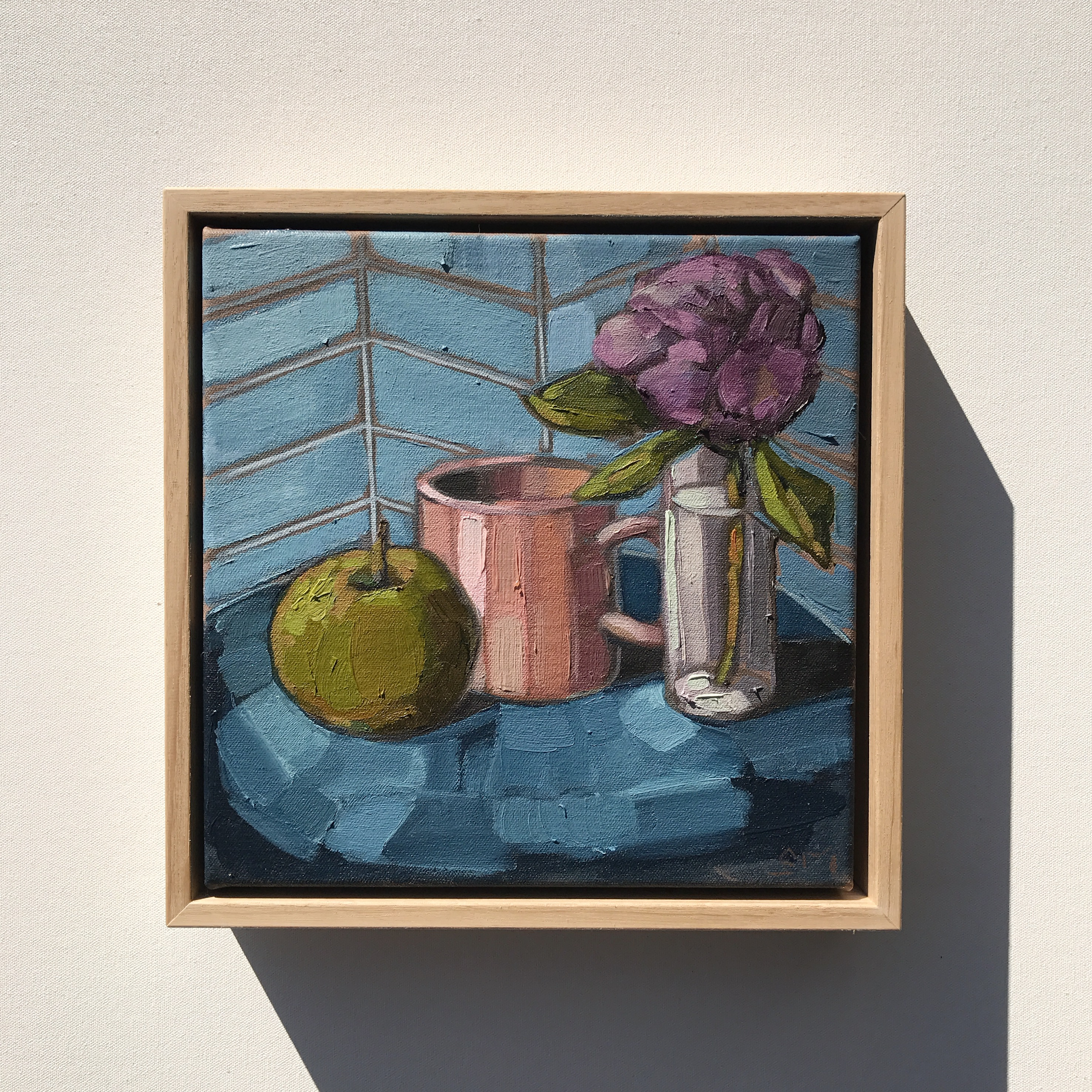 'Pink Mug' 27x27cm $495