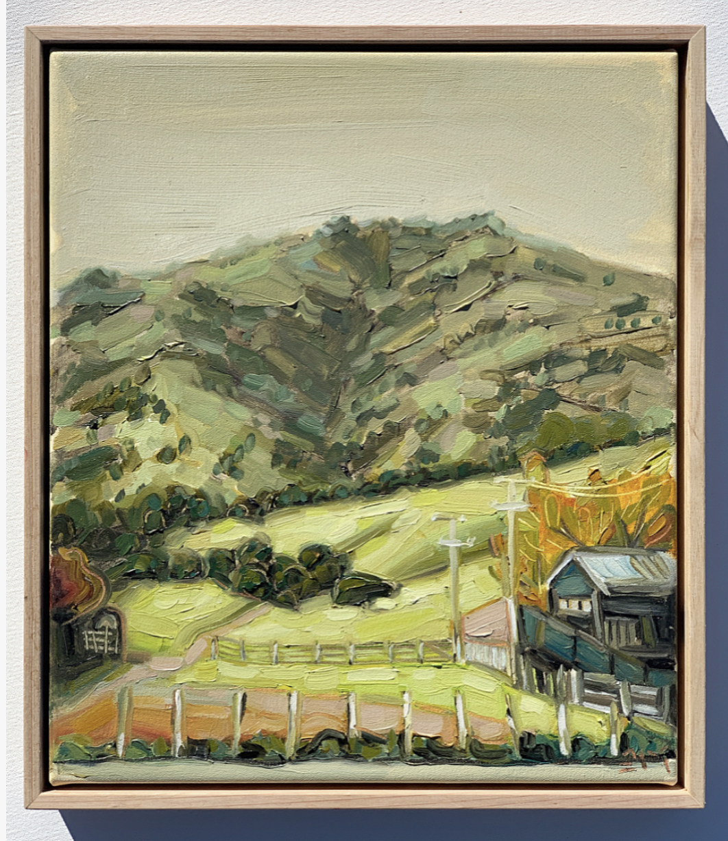 sam michelle 'hills & farming shed' 38x3