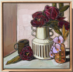 sam michelle 'country tulips & orchids'