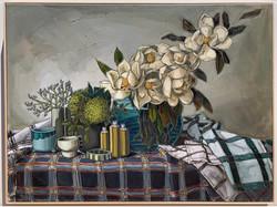 sam michelle 'country magnolias & cloth'