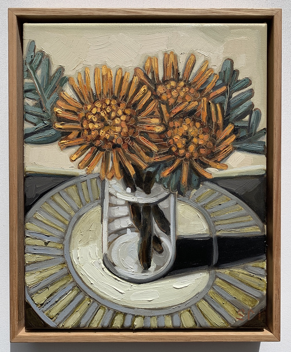 sam michelle 'pincushions & grey vase' 3
