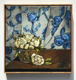 Sam Michelle 'Peonies on a Table' 2019 5