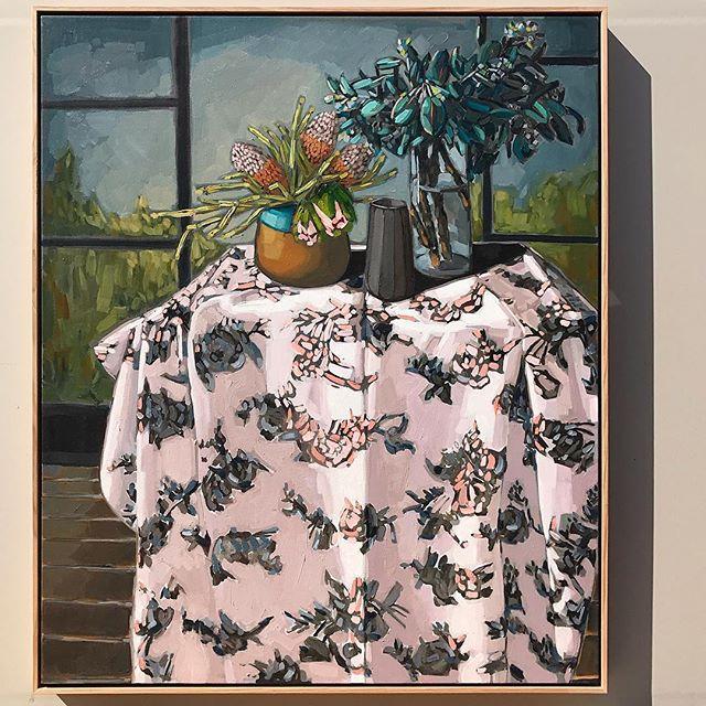 #sammichelleflourish 'Clippings & Cloth' 123x103cm