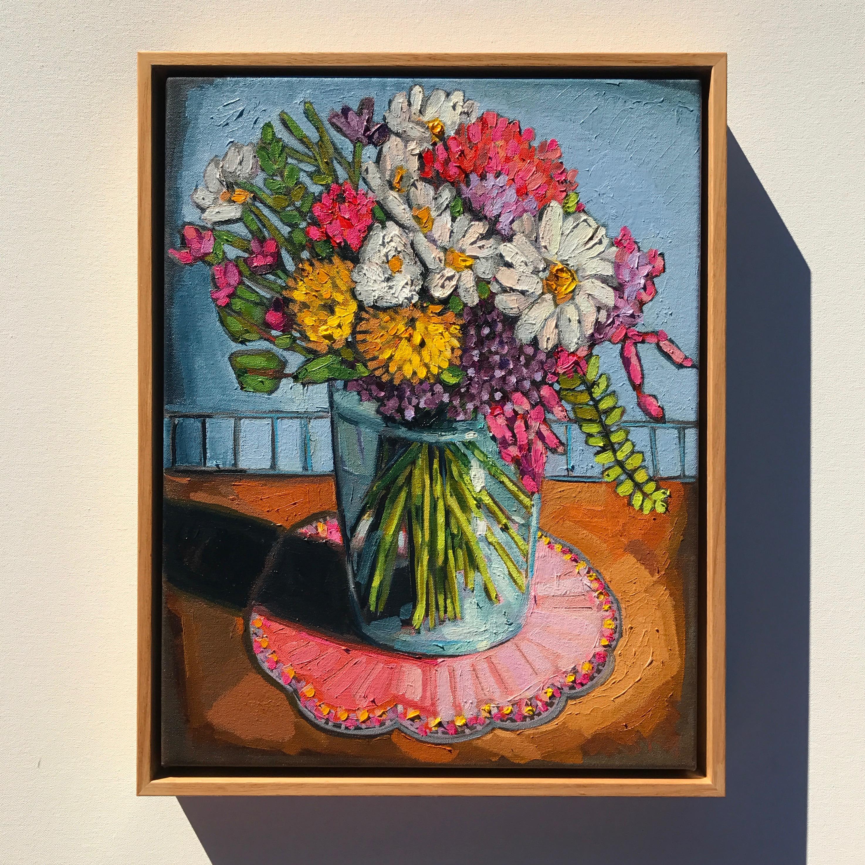 02_17 'Happy Bouquet' 39x49cm $795