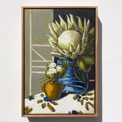 Sam Michelle 'Peony Buds & King Protea'