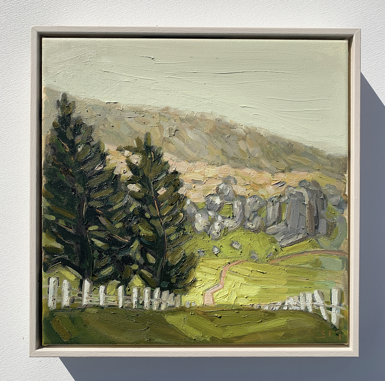 sam michelle 'hills, trees & rocks' 38x3