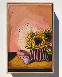 'Sunflowers & Blush 45x30cm