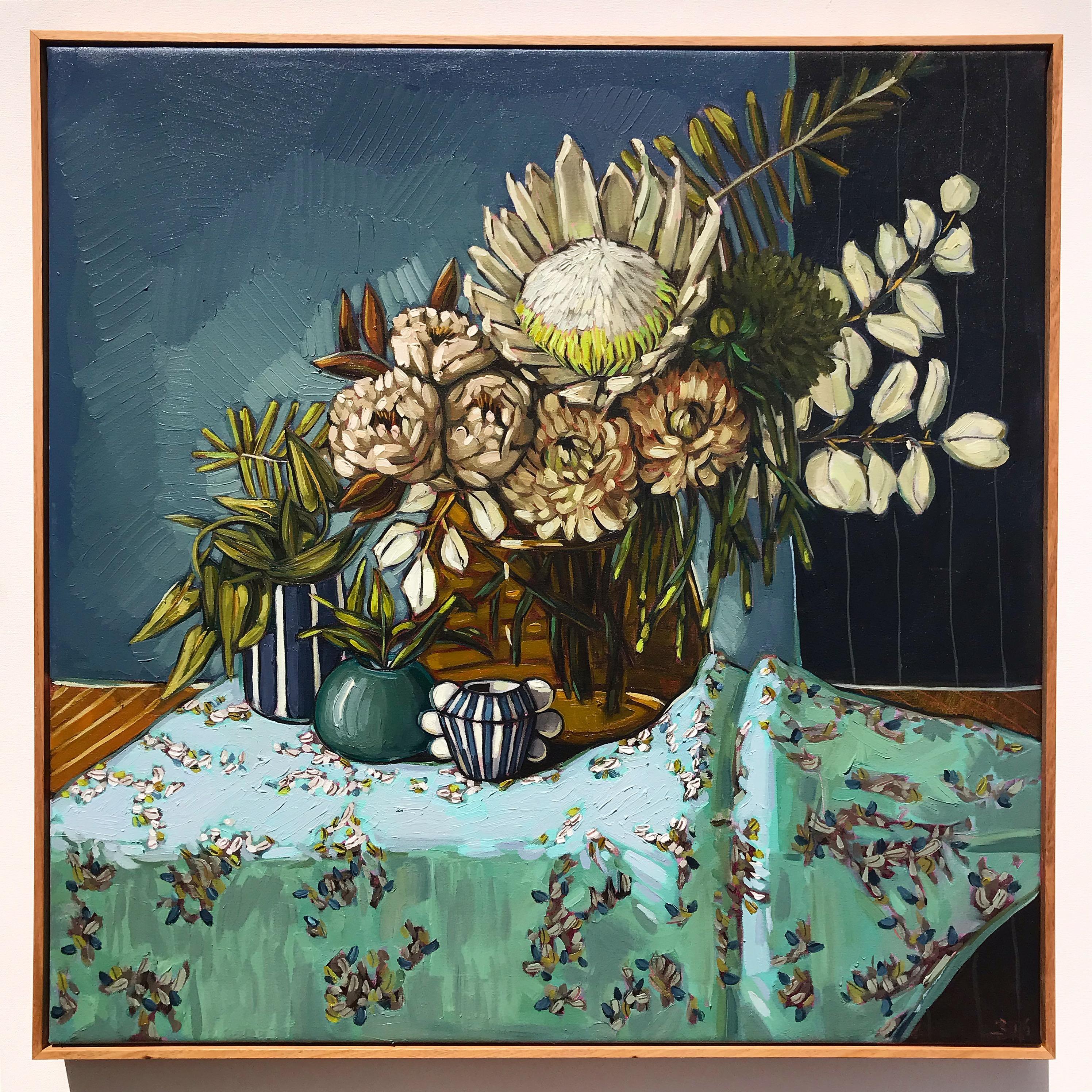 Sam Michelle 'Peonies, Protea & Dahlias'